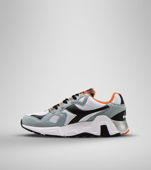 Chaussures de sport - Homme MYTHOS SUEDE BLANC/GRIS ARDOISE - Diadora