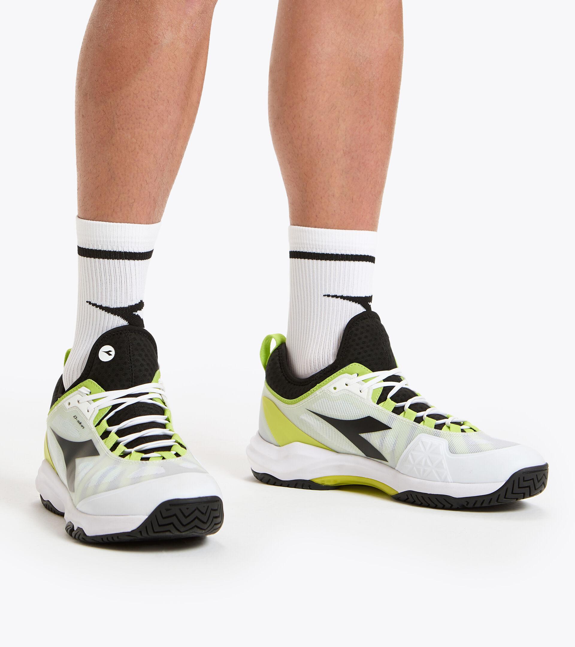 Footwear Sport UOMO SPEED BLUSHIELD FLY 3 + AG WHITE/BLACK/LIME GREEN Diadora