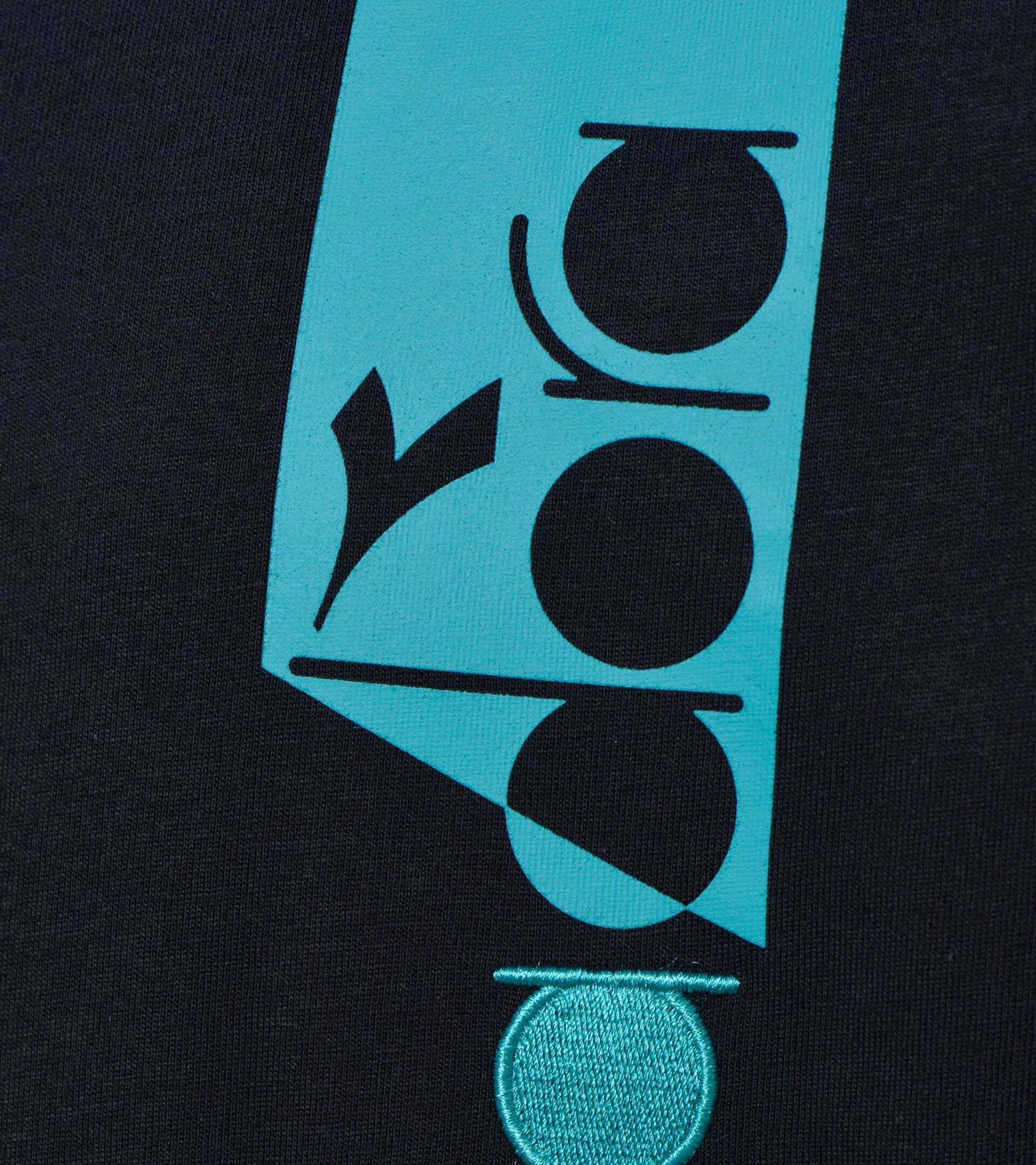 Apparel Sportswear UOMO T-SHIRT SS ICON NERO Diadora