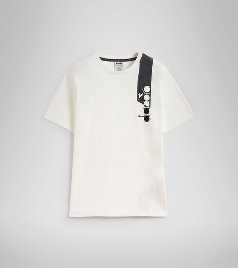 Apparel Sportswear UOMO T-SHIRT SS ICON WHITE Diadora