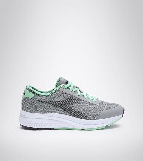 Sports shoe - Women PASSO W SILVER/BLACK/GREEN ASH - Diadora