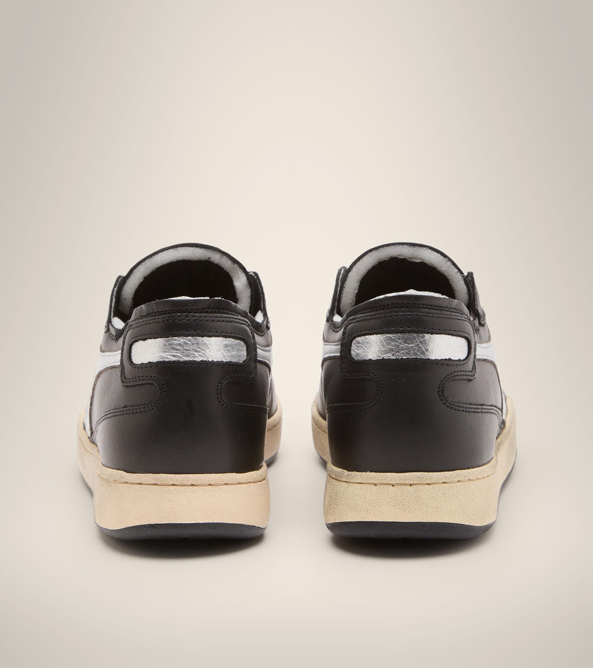 Zapatillas Heritage - Unisex MI BASKET ROW CUT NEW MOON NEGRO - Diadora