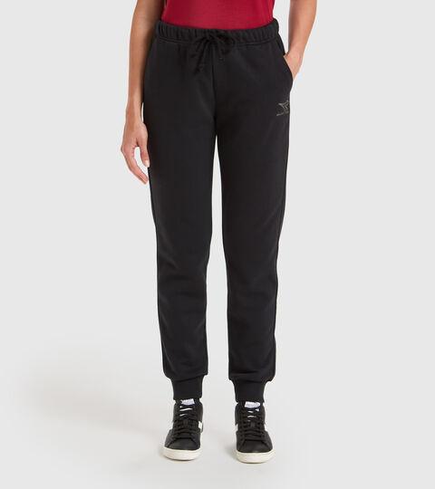 Pantalon de sport - Femme L.PANTS CUFF CORE NOIR - Diadora