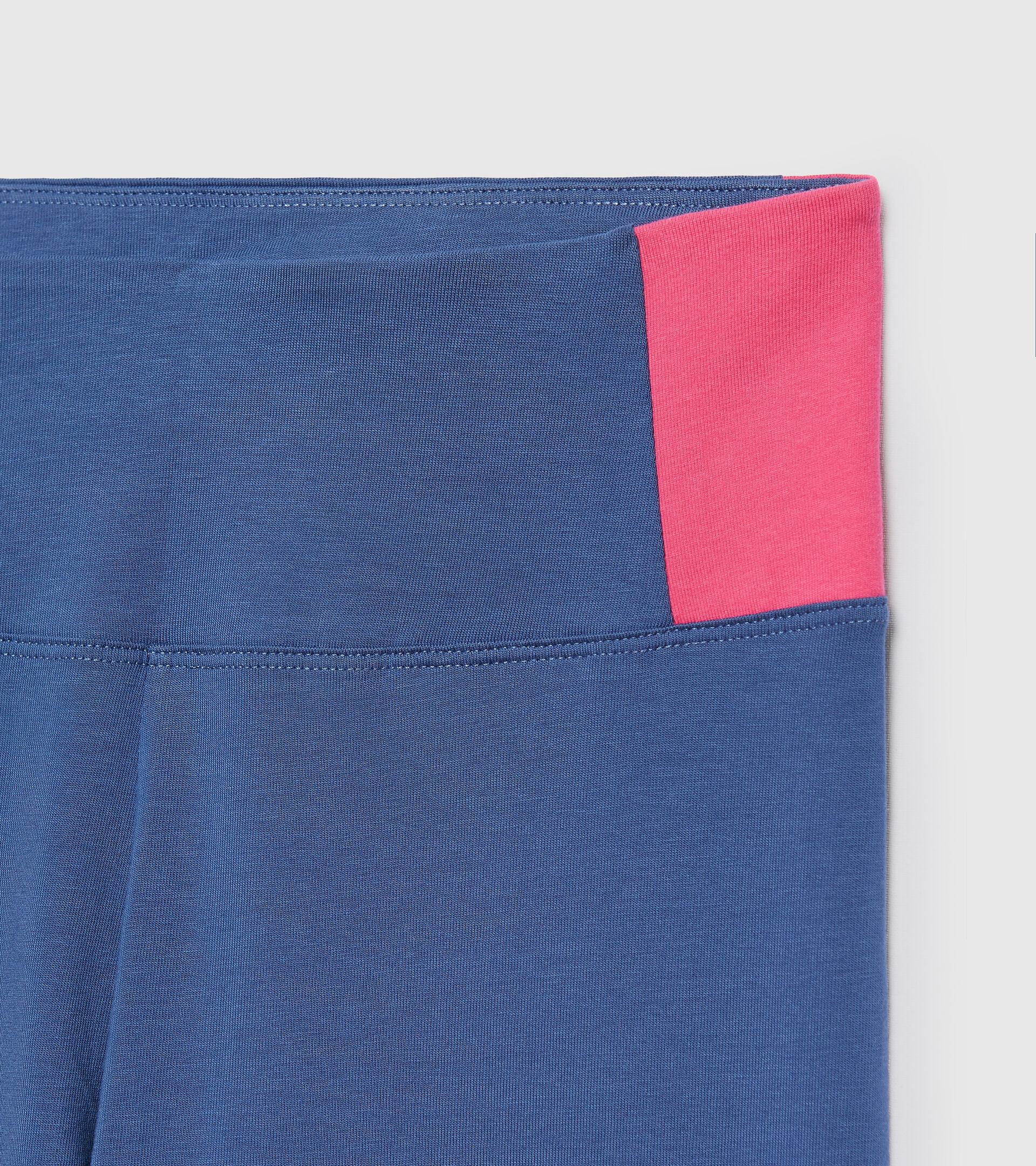 Sporthose - Damen L.LEGGINGS LUSH BIJOU BLAU - Diadora