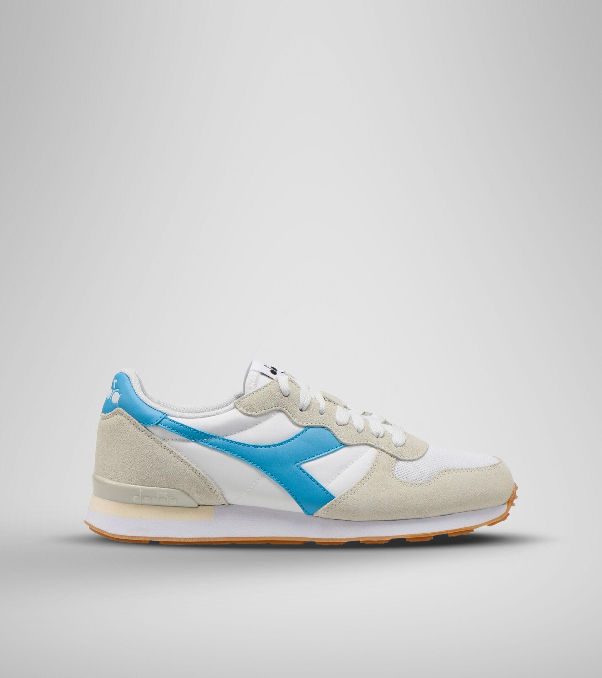 Footwear Sportswear UNISEX CAMARO WHITE/CYAN BLUE Diadora