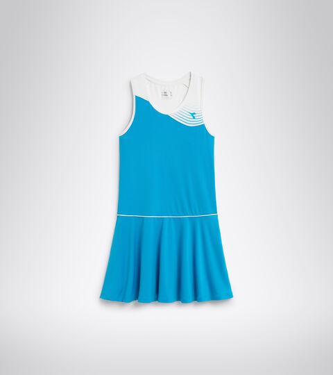 Vestido de tenis - Mujer L. DRESS COURT AZUL REAL FLUO - Diadora