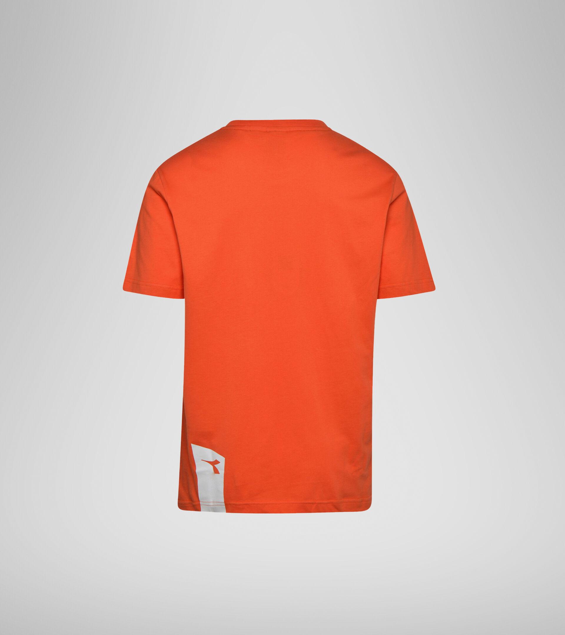 Apparel Sportswear UOMO T-SHIRT SS ICON ARANCIATA Diadora