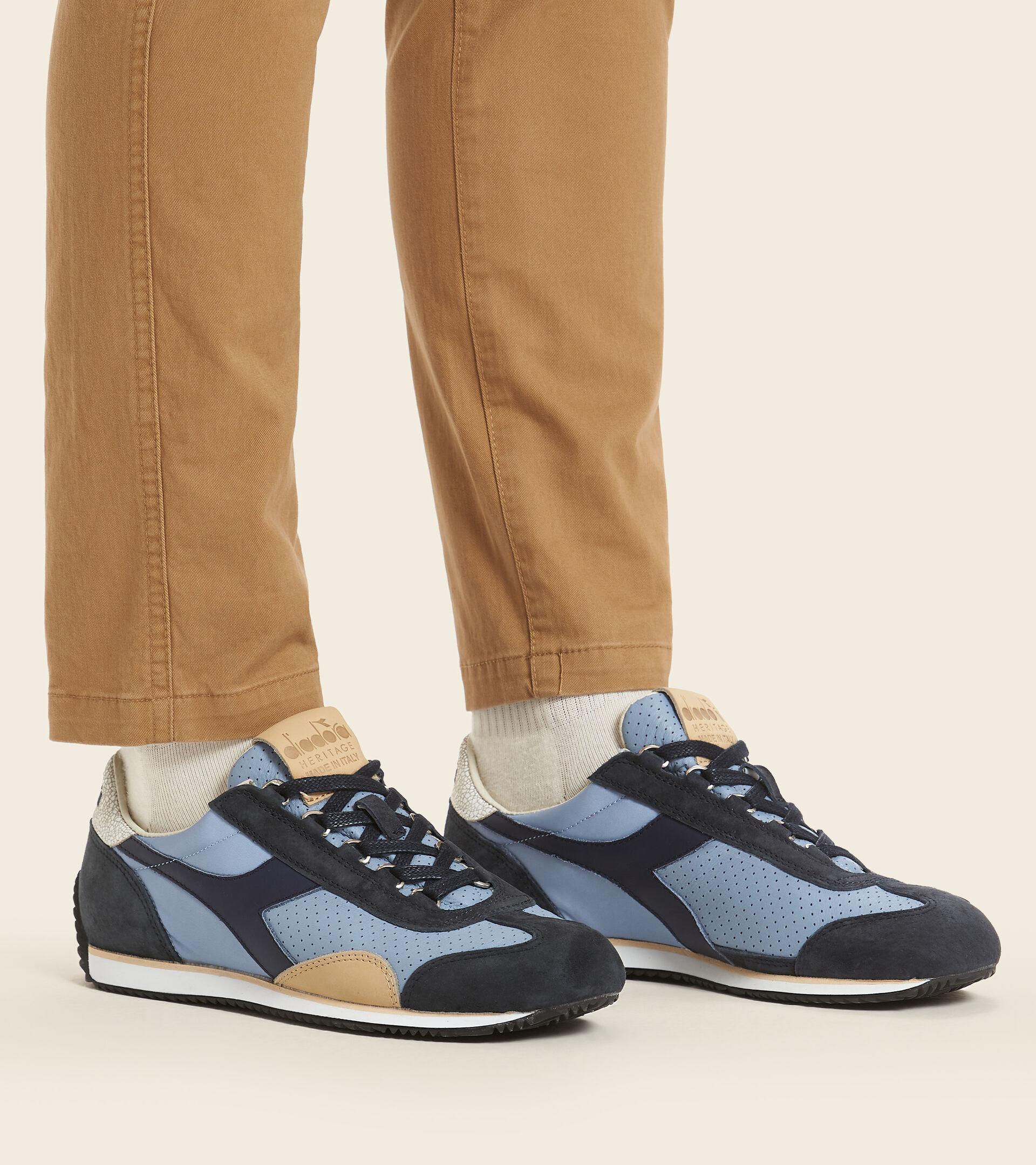 Made in Italy Heritage Shoe - Men EQUIPE ITALIA FADED DENIM BLUE - Diadora