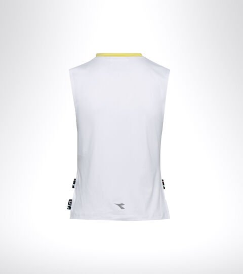 Running tank top - Women L. TANK BE ONE OPTICAL WHITE - Diadora