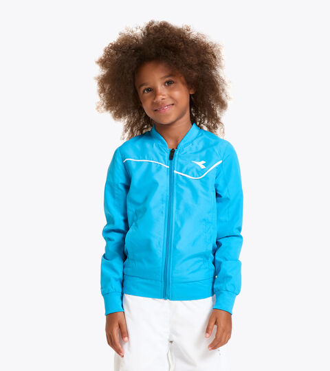 Tennis jacket - Junior G. JACKET COURT ROYAL FLUO - Diadora