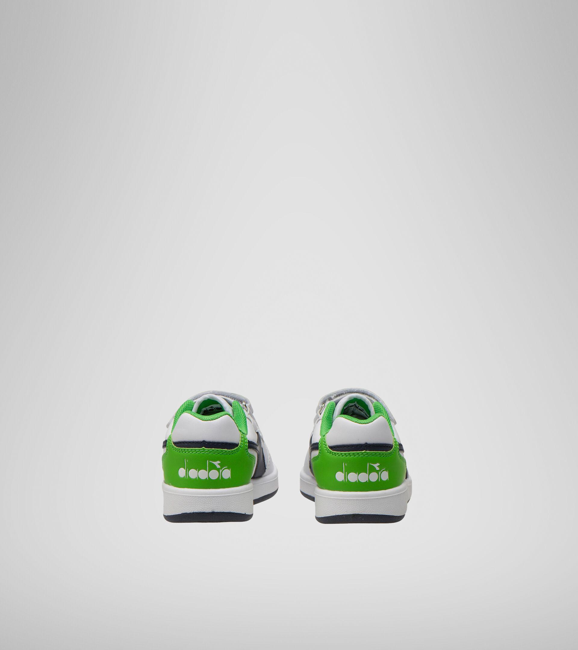 Footwear Sport BAMBINO PLAYGROUND PS BCO/BLU CORSARO/VERDE EVIDENZI Diadora