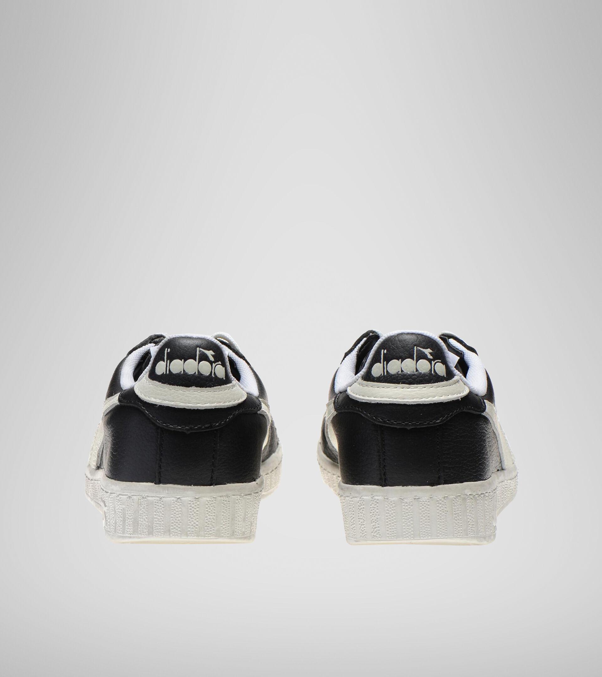 Zapatilla deportiva - Unisex GAME L LOW WAXED NEGRO/BLANCO - Diadora