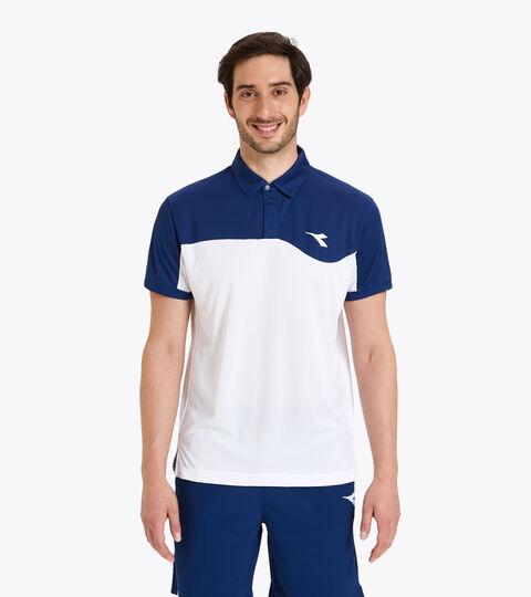 Polo de tenis - Hombre POLO COURT AZUL FINCA - Diadora