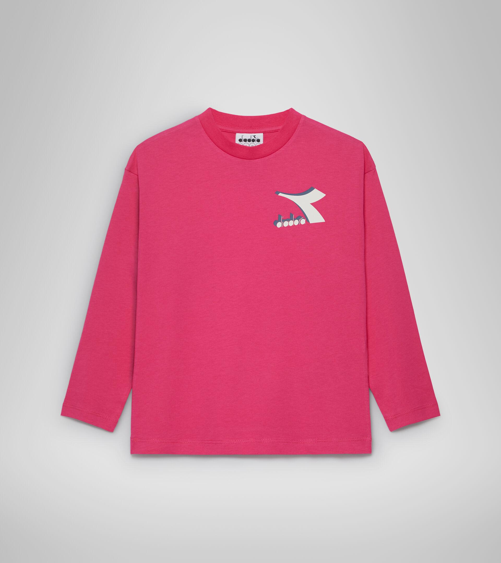T-shirt - Bambini/e JU.LS T-SHIRT CUBIC ROSA MAGENTA - Diadora