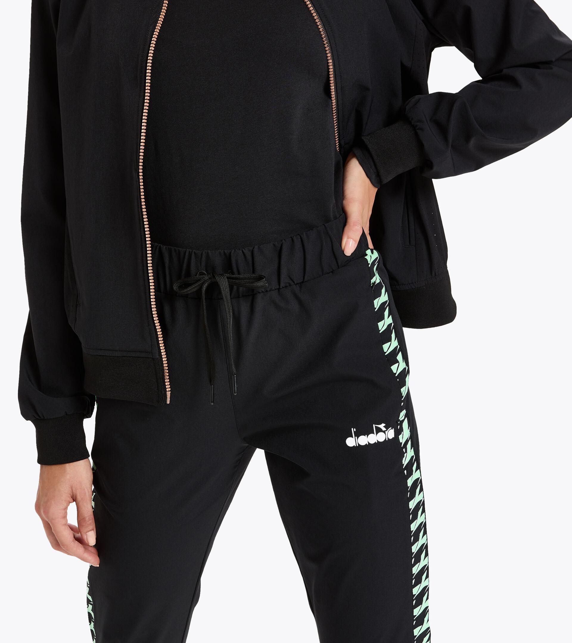 Apparel Sport DONNA L. PANTS CHALLENGE BLACK Diadora