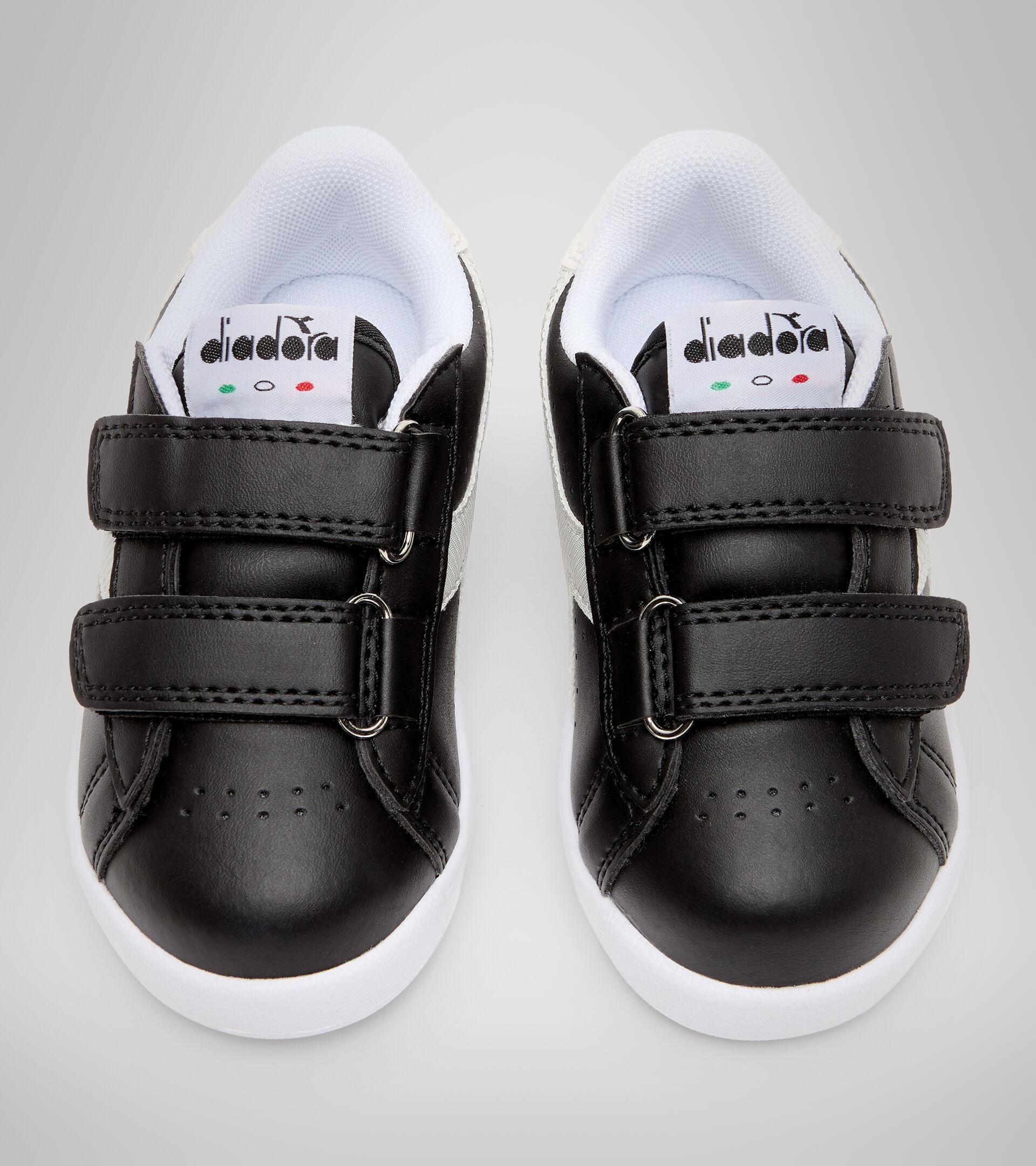 Footwear Sport BAMBINO GAME P TD GIRL NERO/BIANCO Diadora