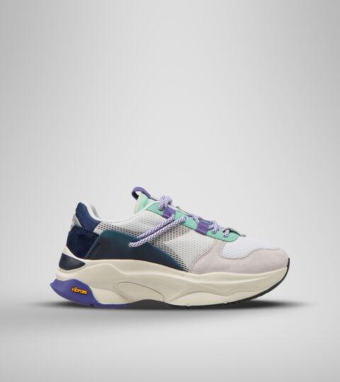 Sports shoe -Unisex TERRENA NYLON WHITE/DRESS BLUES/CABBAGE - Diadora