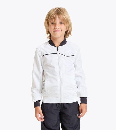 Tennis jacket - Junior J. JACKET COURT OPTICAL WHITE - Diadora