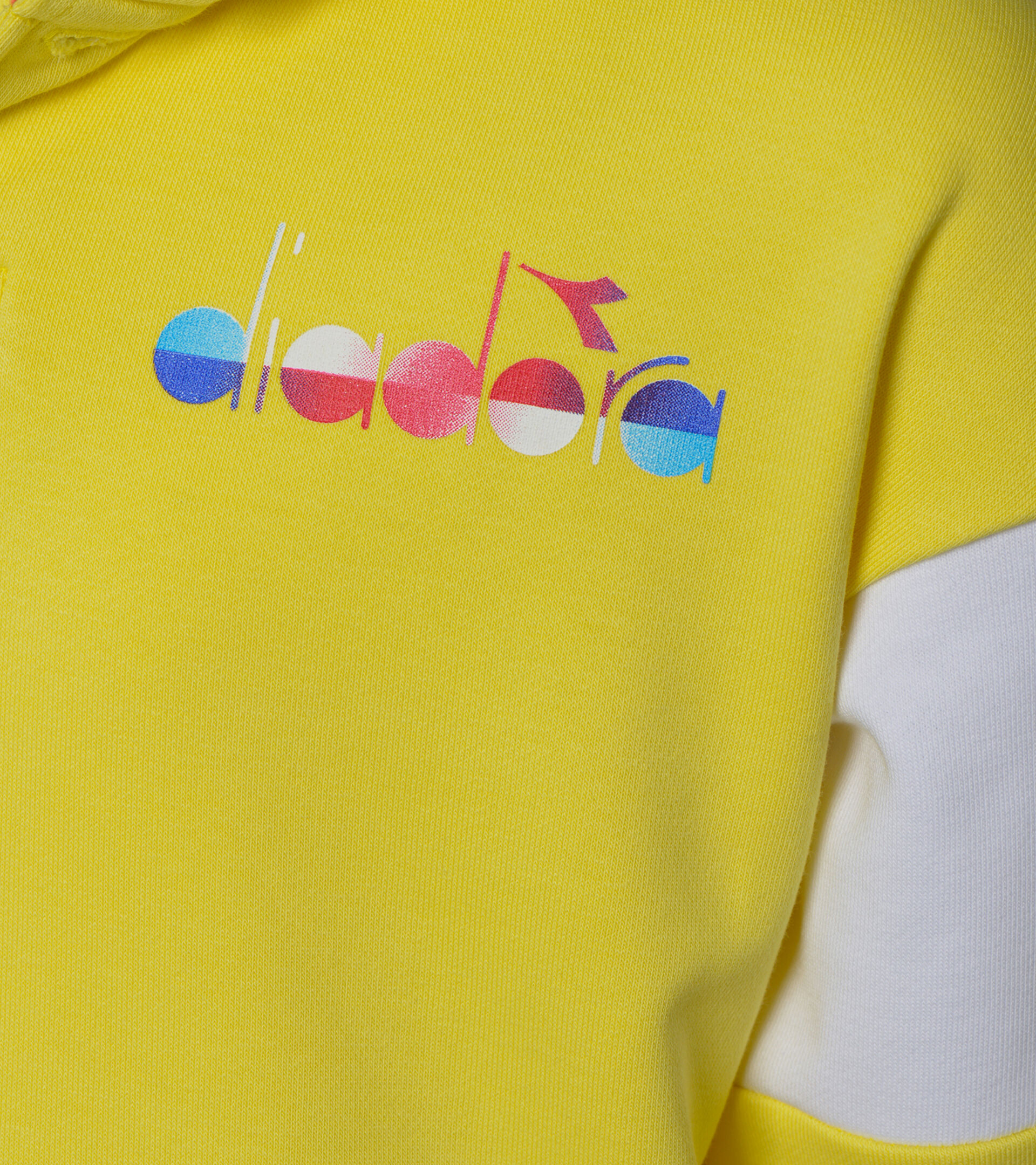 Apparel Sport BAMBINO JB. HOODIE DIADORA CLUB GIALLO CELIDONIA Diadora