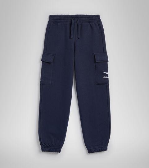 Pantalon de sport - Garçon JB.PANTS CUFF HOOPLA BLEU CABAN - Diadora