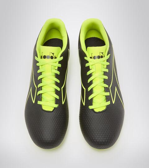 Chaussures de football pour terrains compacts - Unisexe PICHICHI 4 MG14 NOIR/JAUNE FLUO DIA - Diadora