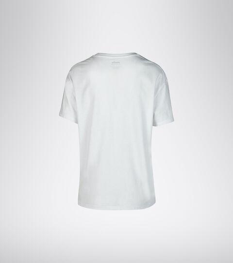Trainings-T-Shirts - Damen L. SS T-SHIRT PLUS BE ONE STRAHLEND WEISSE - Diadora