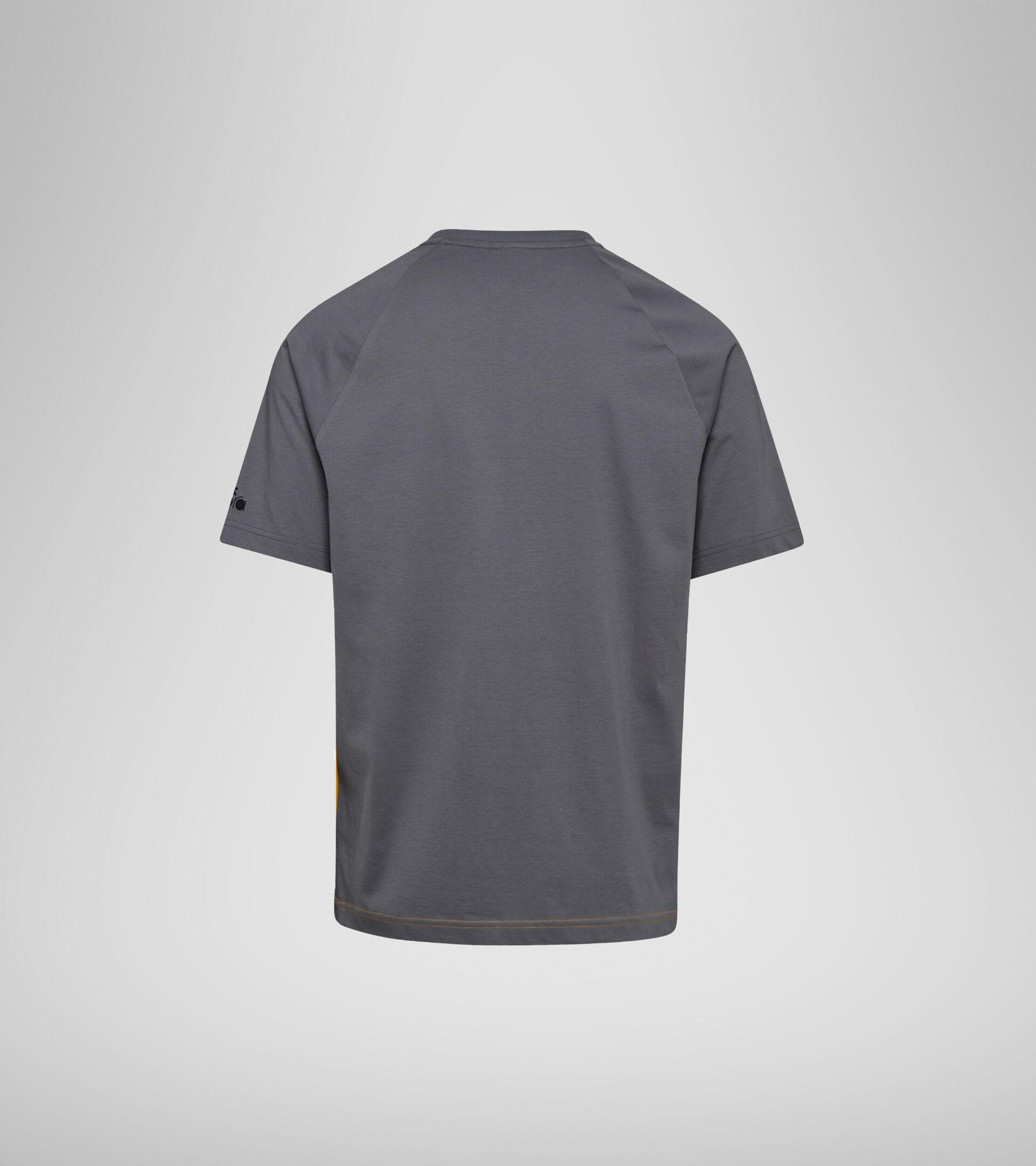 T-shirt - Men T-SHIRT SS DIADORA CLUB YELLOW SAFFRON - Diadora