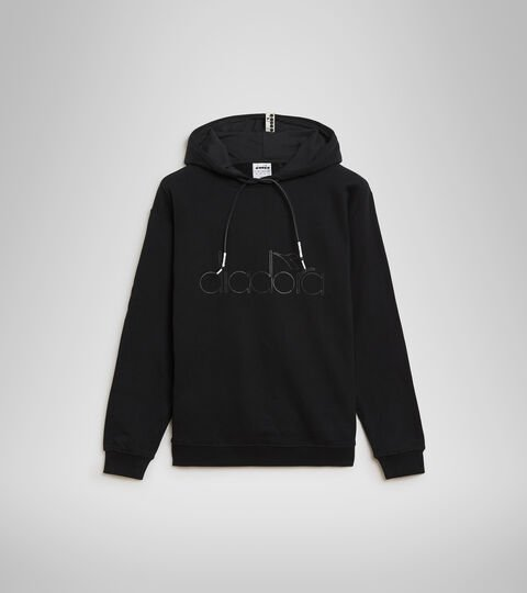 Sweat-shirt à capuche - Unisexe HOODIE DIADORA HD NOIR - Diadora