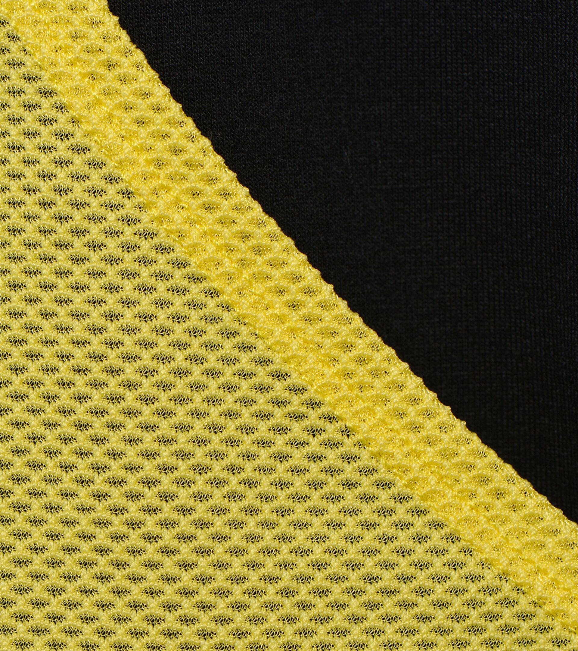 Running sweatshirt - Women   L. LIGHTWEIGHT SWEAT BE ONE BLACK/GOLDFINCH - Diadora