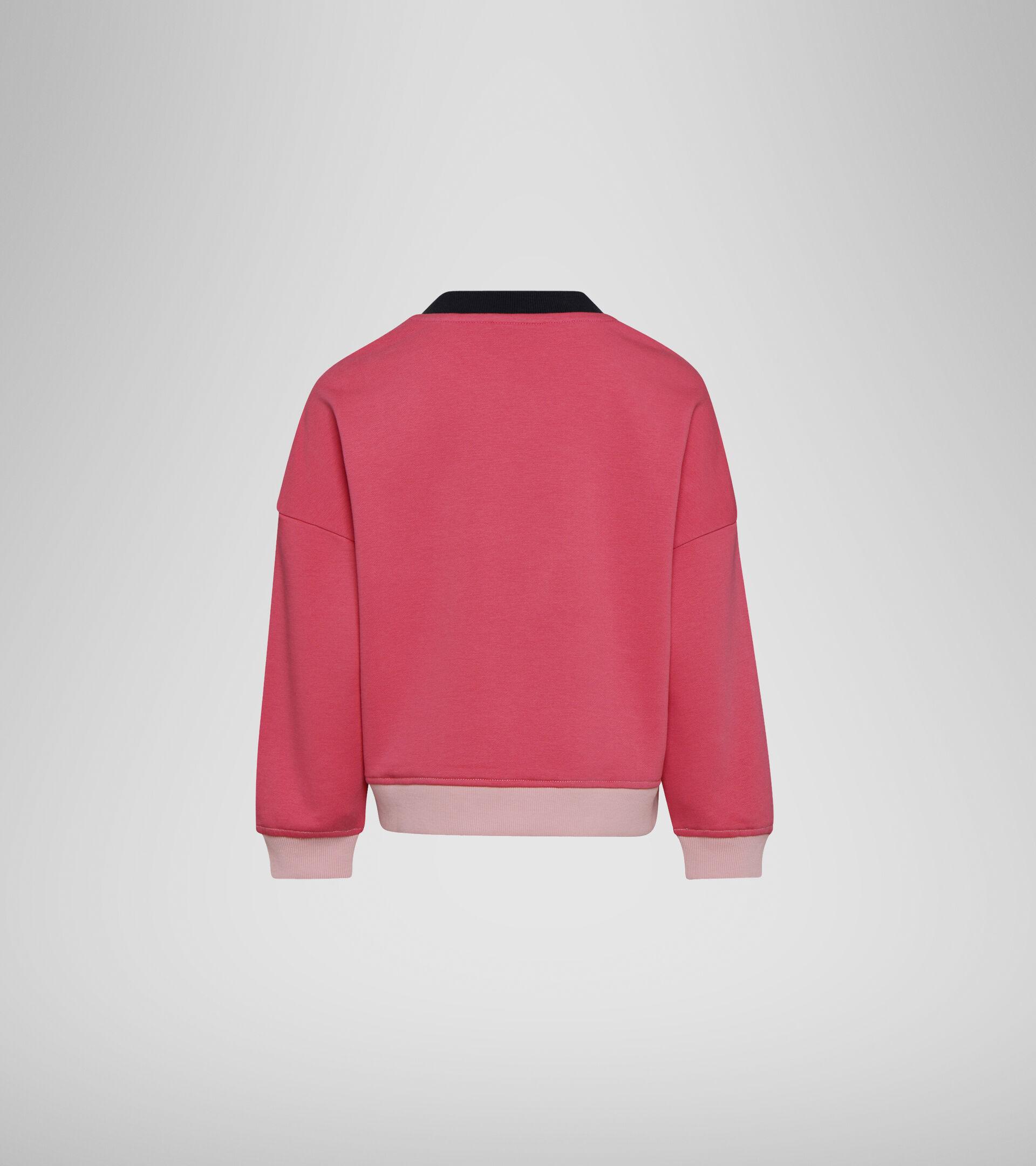Sweater mit Rundhalsausschnitt - Mädchen JG. SWEATSHIRT CREW LOGO MANIA PFIRSICHHAUT - Diadora