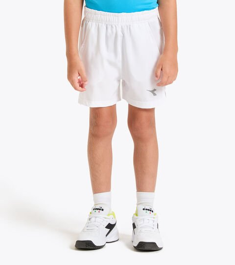 Tennis bermuda shorts - Junior J. SHORT COURT OPTICAL WHITE - Diadora