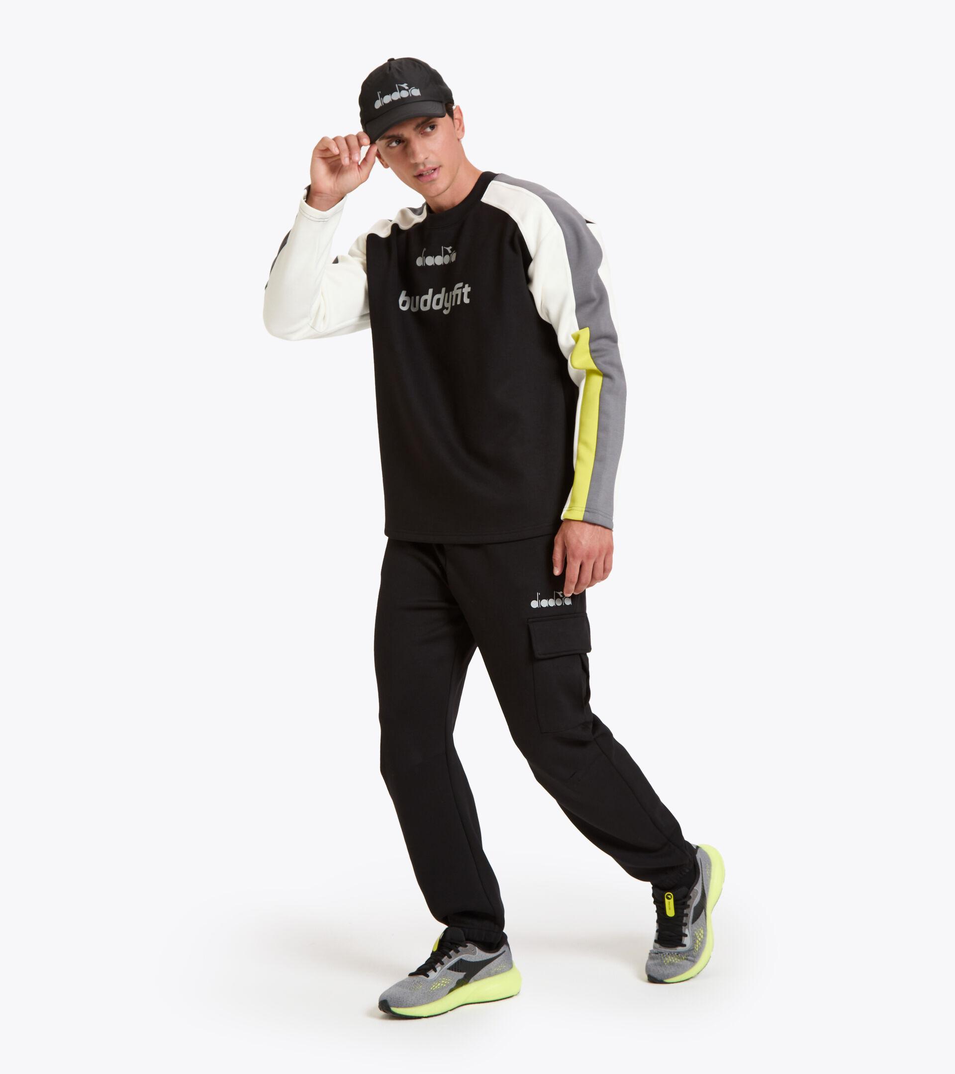 Apparel Sport UOMO SWEATSHIRT CREW BUDDYFIT BLACK Diadora