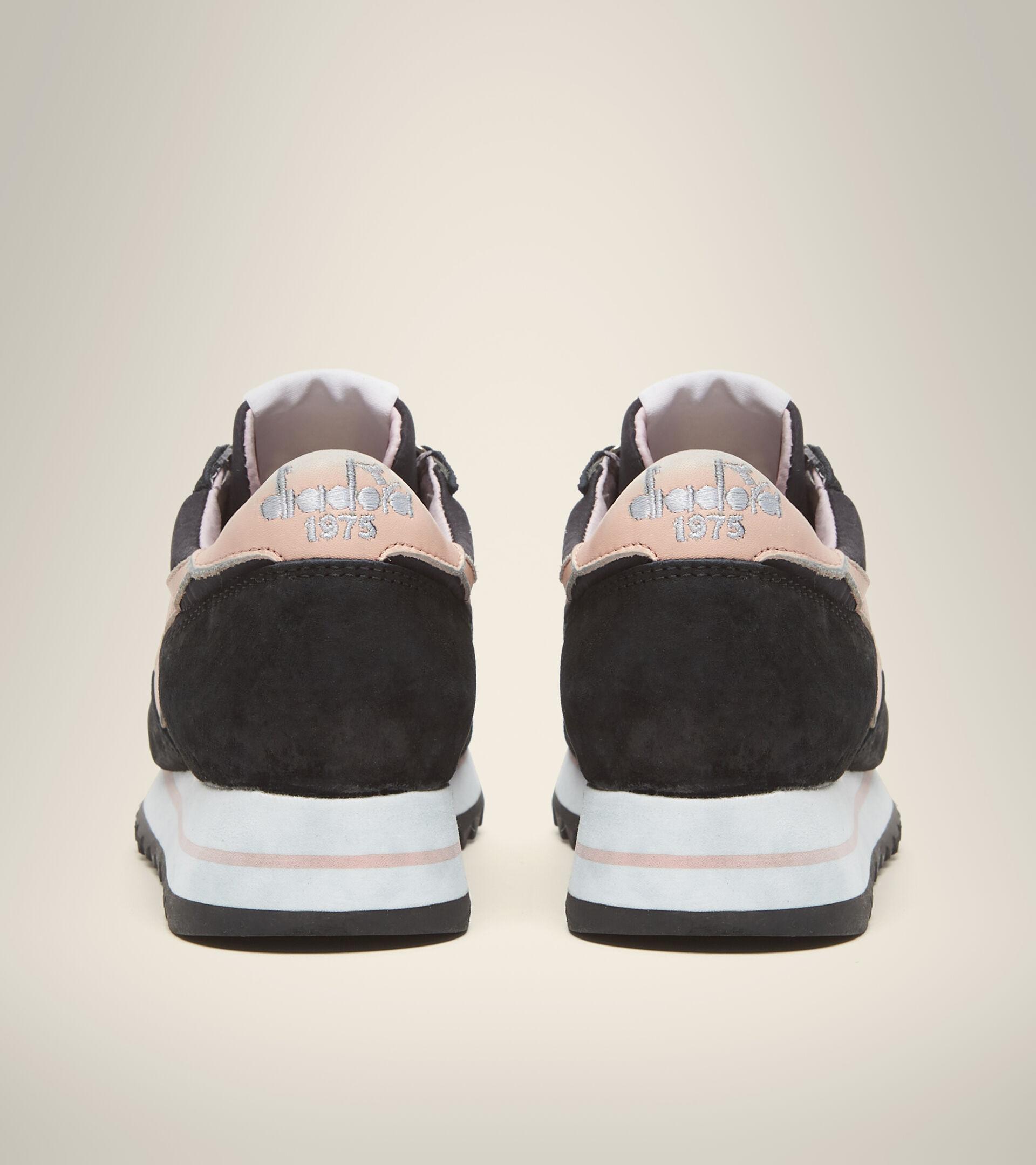 Heritage-Schuh - Damen EQUIPE SUEDE SW EVO WN DUNKEL MARINEBLAU - Diadora
