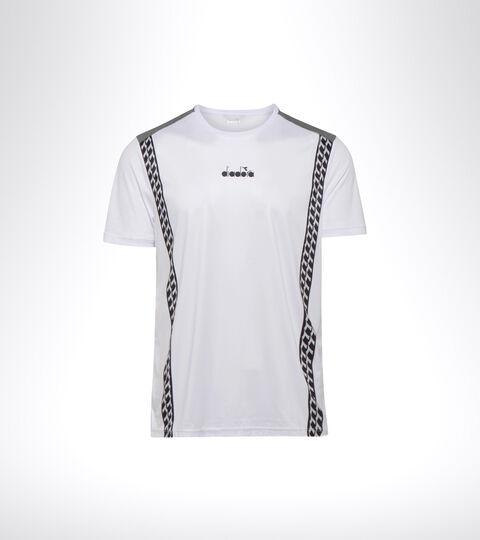 Tennis T-shirt - Men SS T-SHIRT CHALLENGE OPTICAL WHITE - Diadora
