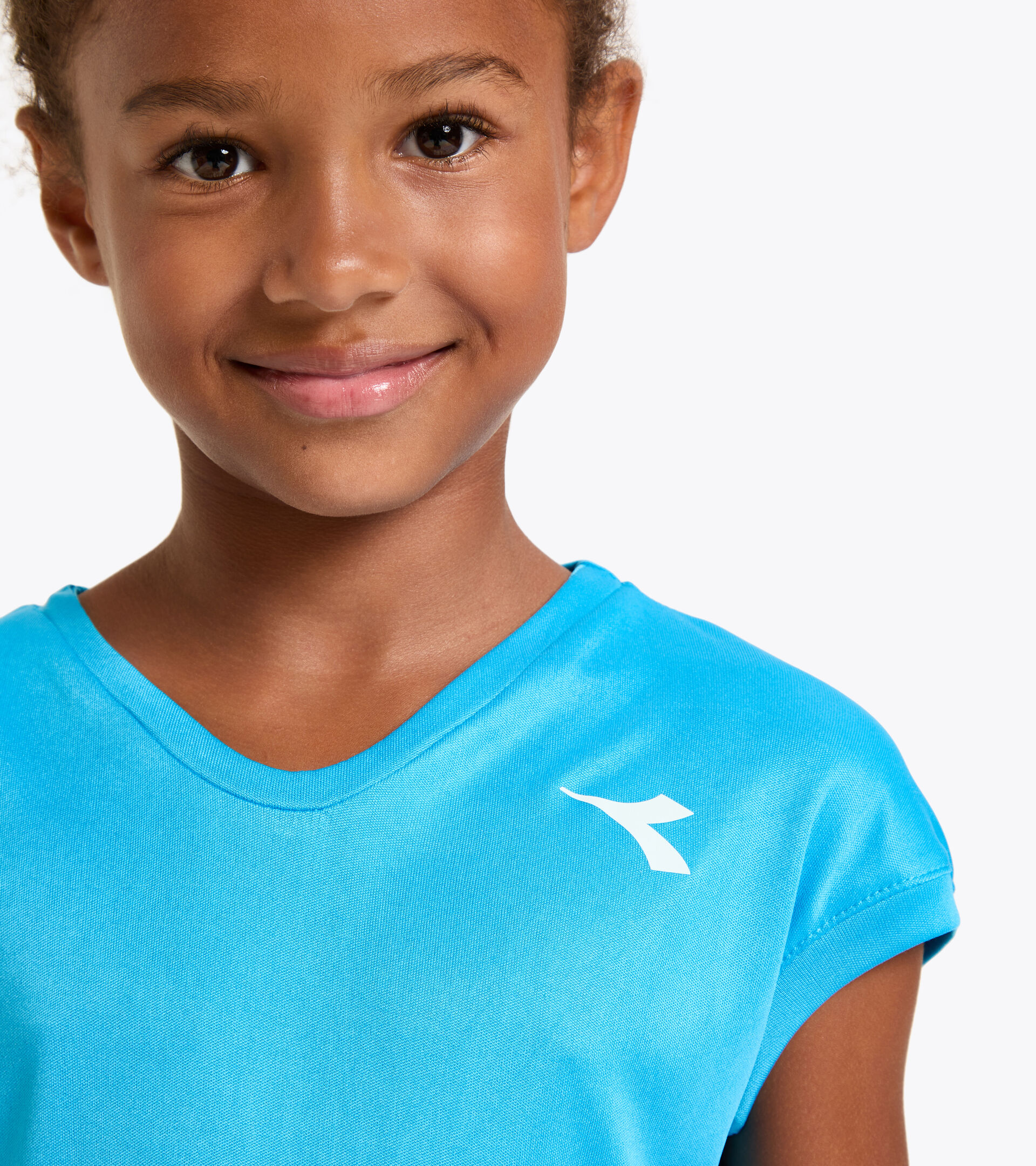 Tennis-T-Shirt - Junior G. T-SHIRT TEAM KONIGSBLAU FLUO - Diadora