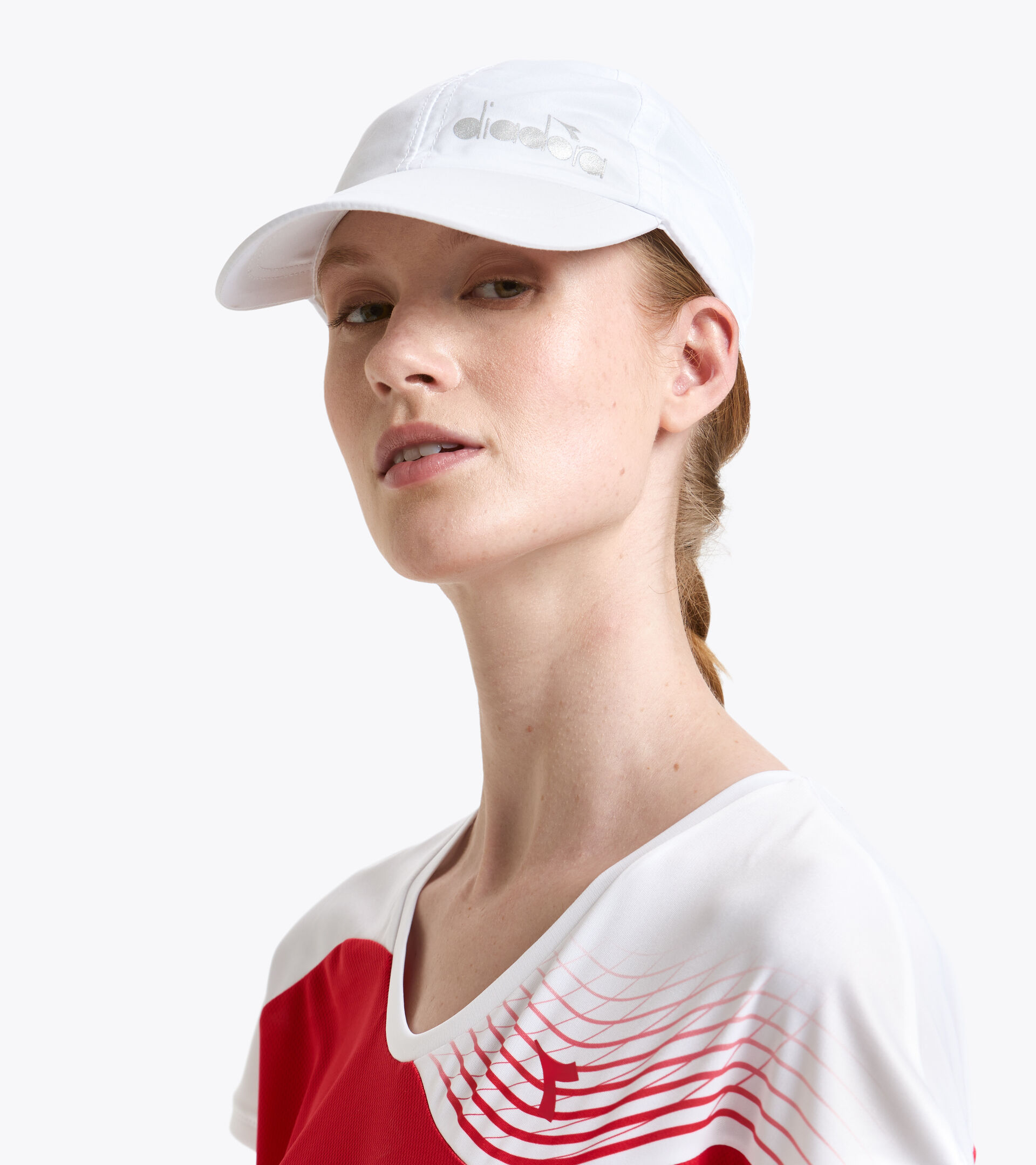 Accessories Sport UNISEX CAP COURT BIANCO OTTICO Diadora