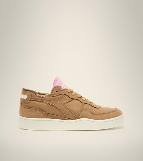 Made in Italy Heritage Shoe - Unisex MI BASKET ROW CUT ITA VALDILANA TOASTED COCONUT - Diadora