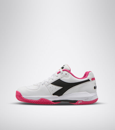 Footwear Sport DONNA S. CHALLENGE 3 W SL CLAY BIANCO/NERO/ROSA MAGENTA Diadora
