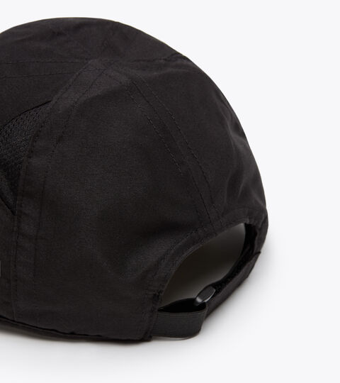 Cappellino con frontino - Unisex ADJUSTABLE CAP BLACK/OPTICAL WHITE - Diadora