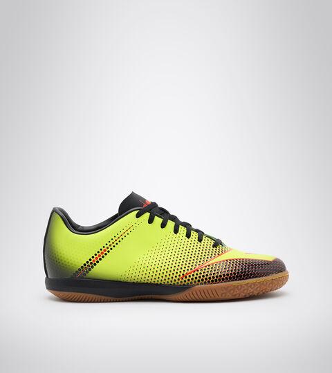 Futsal-Schuh für Indoor-Böden und Parkett - Unisex BOMBER IDR FLUO GELB DD/SCHWARZ/FLUO ROT - Diadora