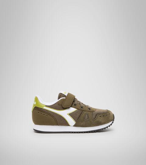 Chaussures de sport - Enfants 4-8 ans SIMPLE RUN PS OLIVE FONCE - Diadora