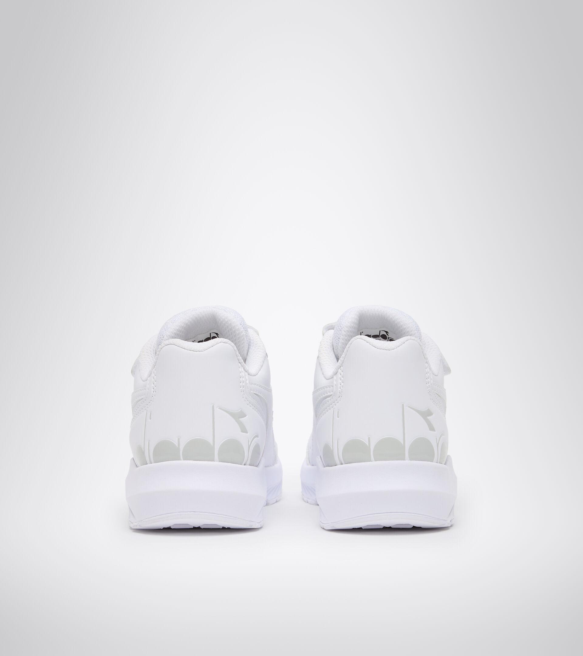Chaussures de running - Unisexe Enfant FALCON SL JR V BLANC/BLANC/BLANC - Diadora