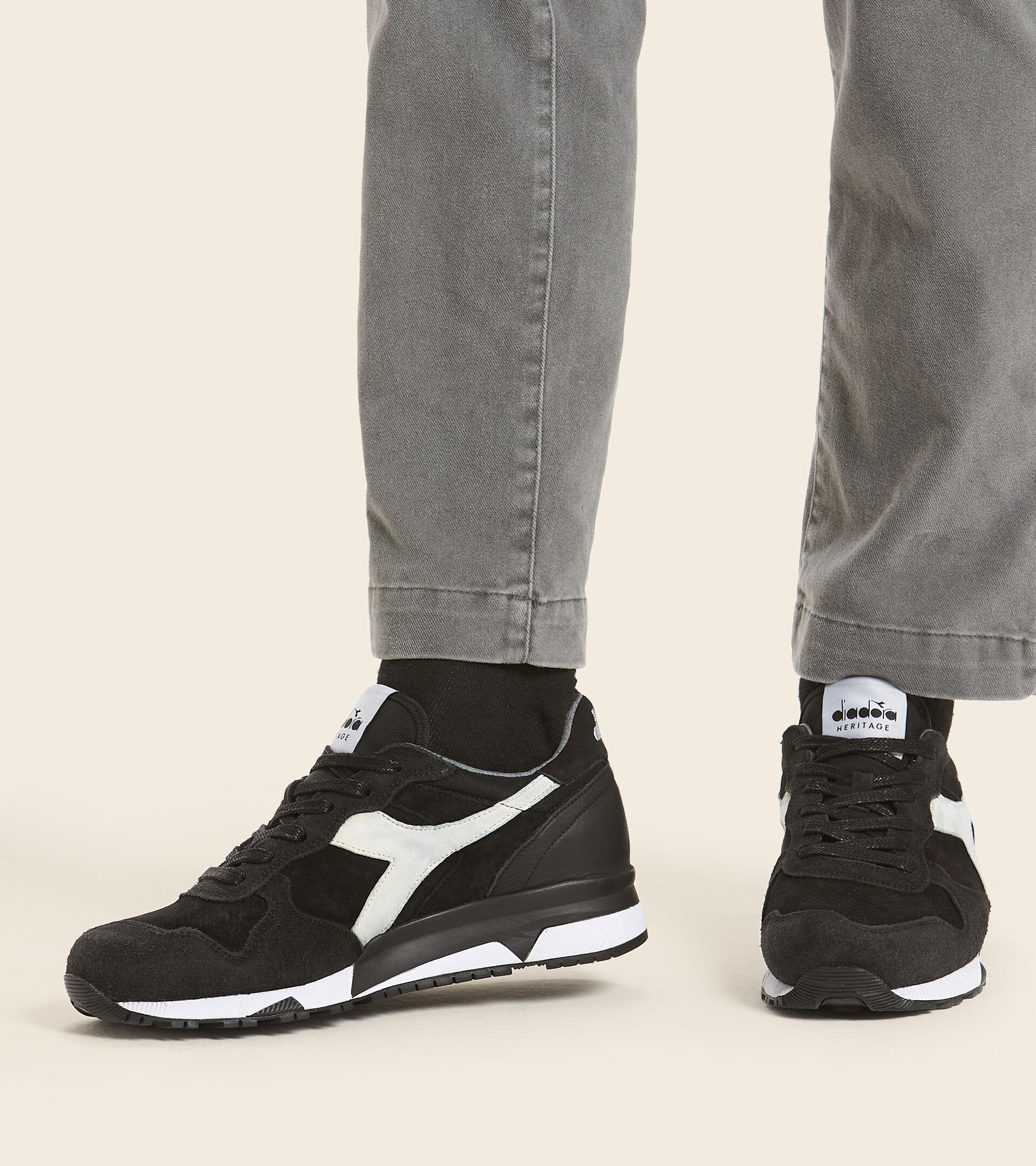Footwear Heritage UOMO TRIDENT 90 LEATHER BLACK Diadora