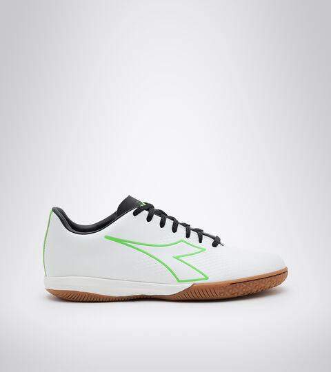 Footwear Sport UOMO PICHICHI 4 IDR WHITE/GREEN FLUO/BLACK Diadora