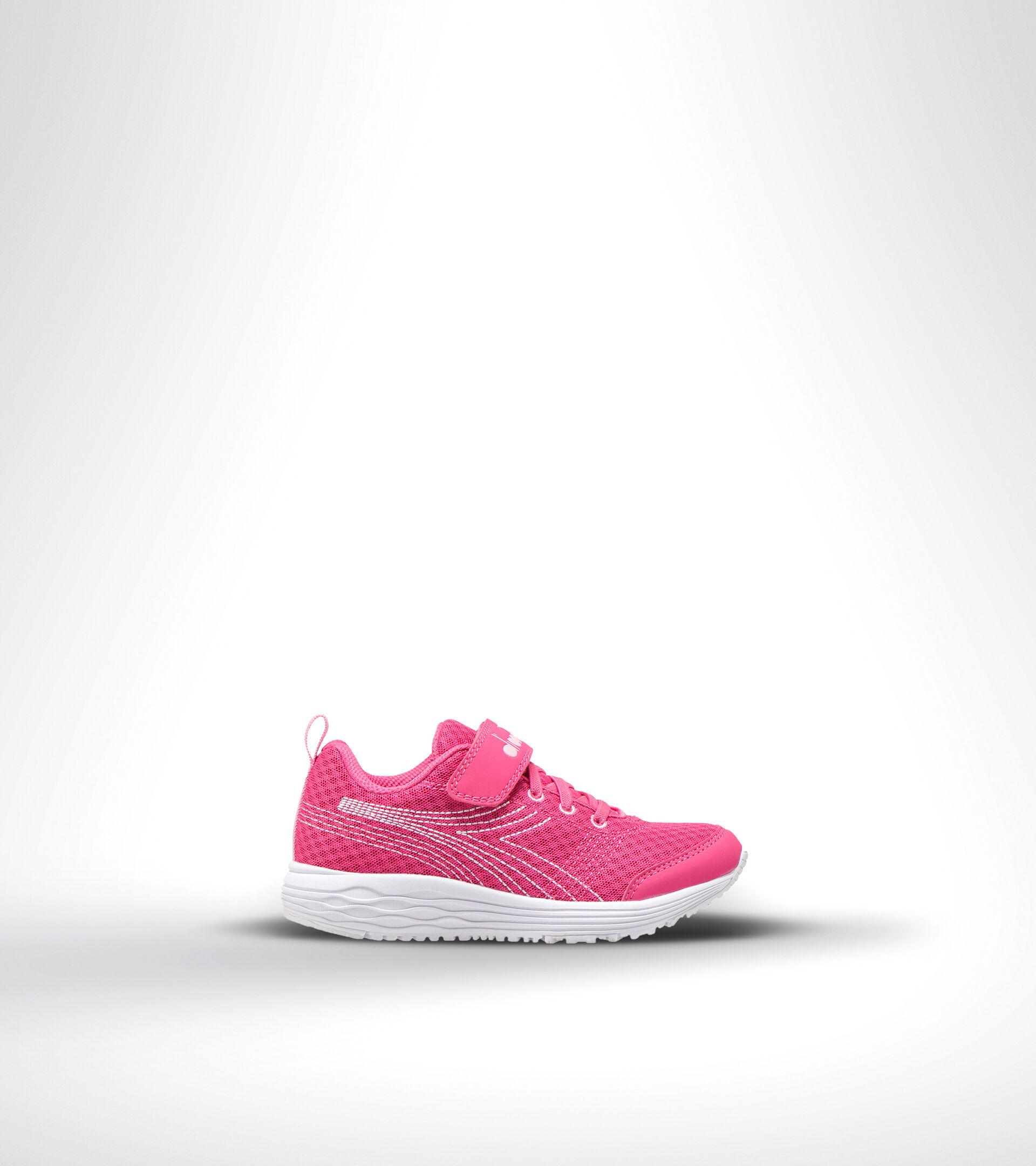 Chaussures de running - Unisexe enfant FLAMINGO 6 JR ROSA FUCSIA/BIANCO - Diadora