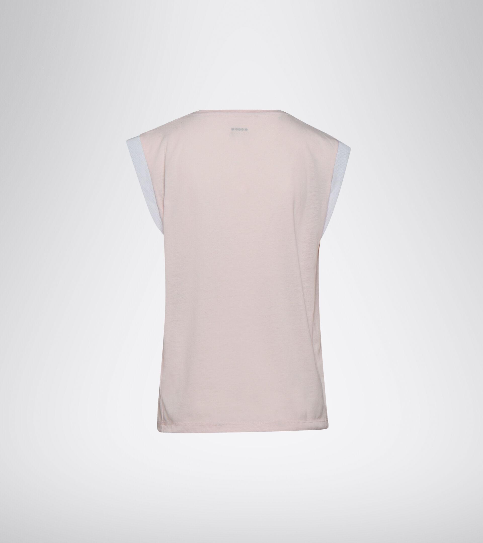 Running T-shirt - Women L. SS T-SHIRT BE ONE PINK VIOLET - Diadora