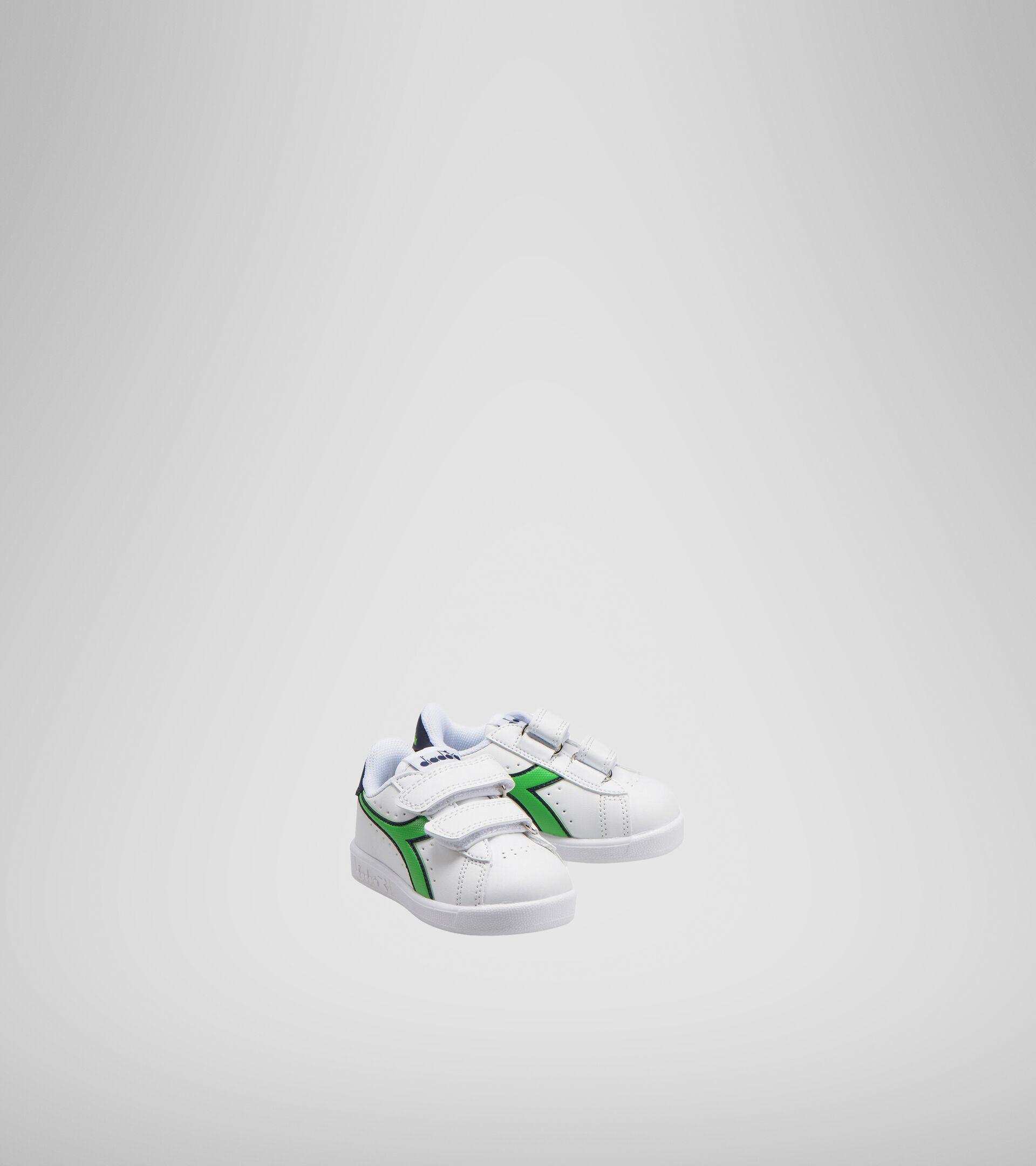 Footwear Sport BAMBINO GAME P TD BLCO/LIRIO NEGRO/VERDE CLASICO Diadora