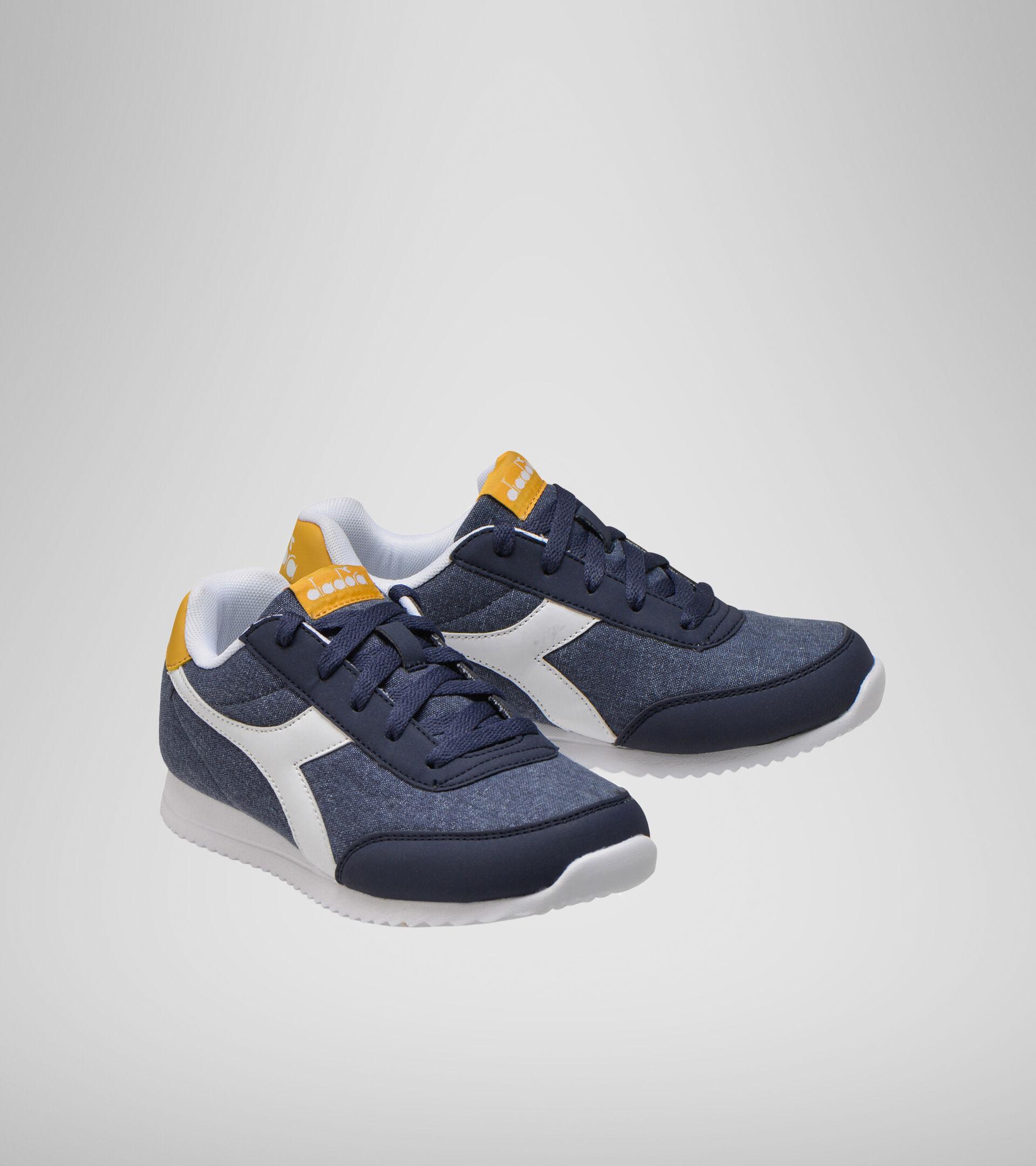 Footwear Sport BAMBINO JOG LIGHT GS BLACK IRIS/GOLDEN APRICOT Diadora