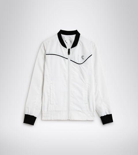 Tennis jacket - Junior G. JACKET COURT OPTICAL WHITE - Diadora