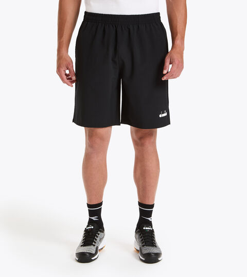 Tennis shorts - Men BERMUDA EASY TENNIS BLACK - Diadora
